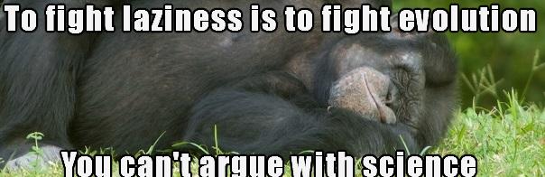 fightLaziness